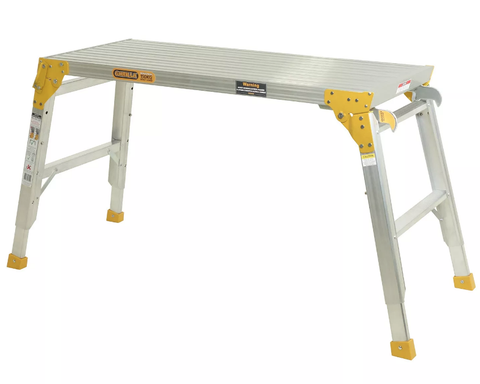 Work Platform 150kg 0.6-0.9mH 1150mm x 450mm With Connecting Brackets MW105-I450WB