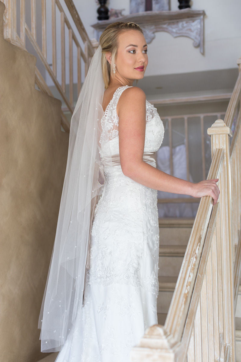 Charlotte veil - Luvlee Handcrafted Bridal Accessories