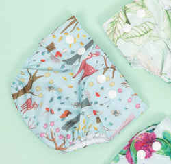 Enchanted Woodland - Adjustable Swim Nappy - MilkmaidMumma