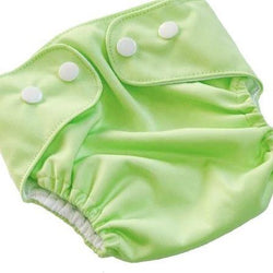 Lime Green - Adjustable Swim Nappy - MilkmaidMumma