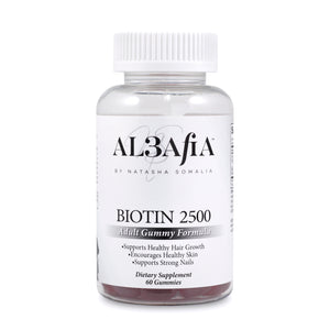 Biotin-2500 30 day supply (No Gelatin, GMO additives or fillers)