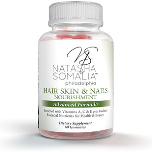 Hair Skin & Nails  Nourishment Advanced Formula Gummies 30 day supply
