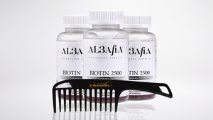 Biotin 2500 3 month supply (No Gelatin, GMO additives or fillers)