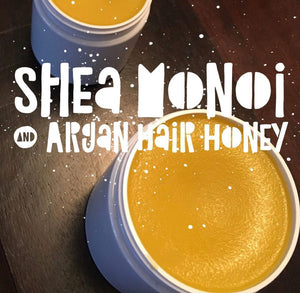 Shea Monoi & Argan Oil Hair Honey Protective HairDress 8oz