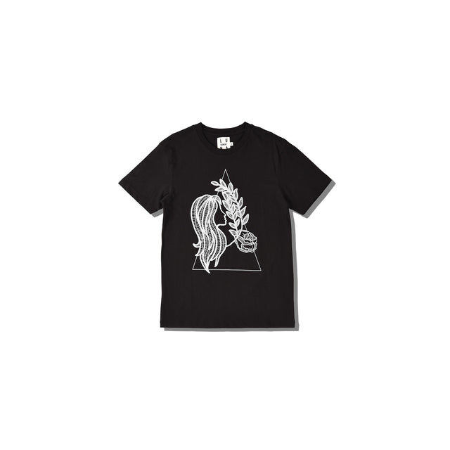 Luna Blanche Virgo Hand Drawn Graphic T-Shirt