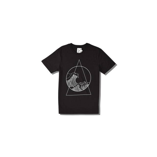Luna Blanche Aquarius Hand Drawn Graphic T-Shirt