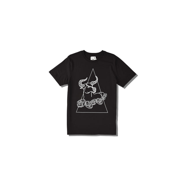Luna Blanche Taurus Hand Drawn Graphic T-Shirt