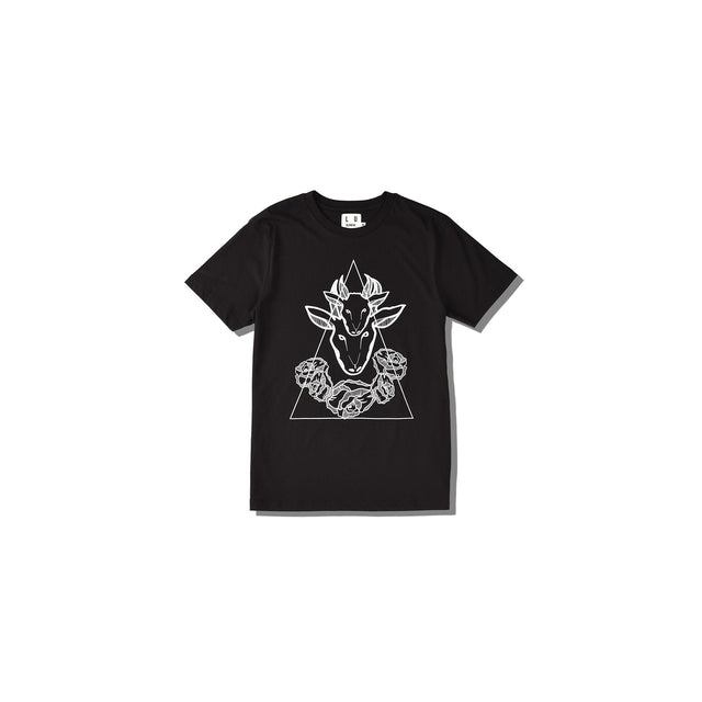 Luna Blanche Capricorn Hand Drawn Graphic T-Shirt