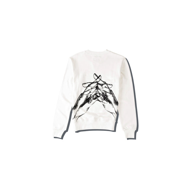 Luna Blanche Hello My Love Hand Drawn Pullover
