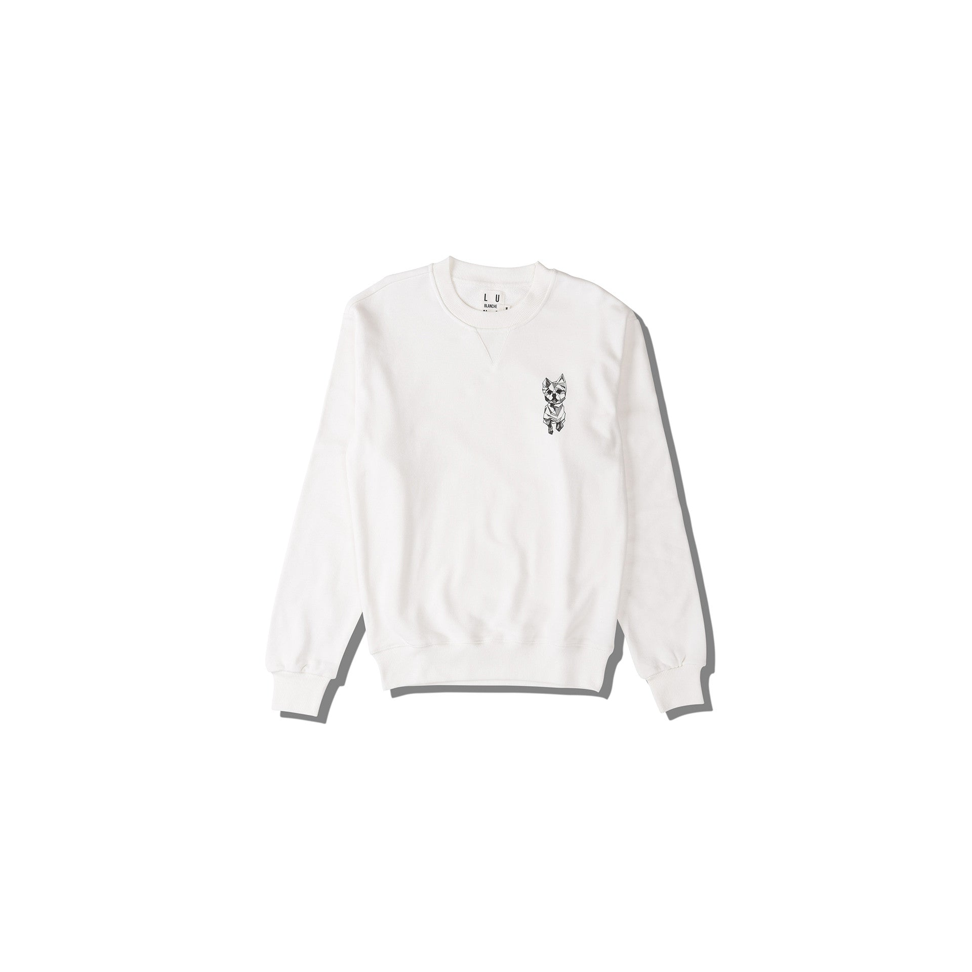 Luna Blanche Qtip Hand Drawn Graphic Pullover