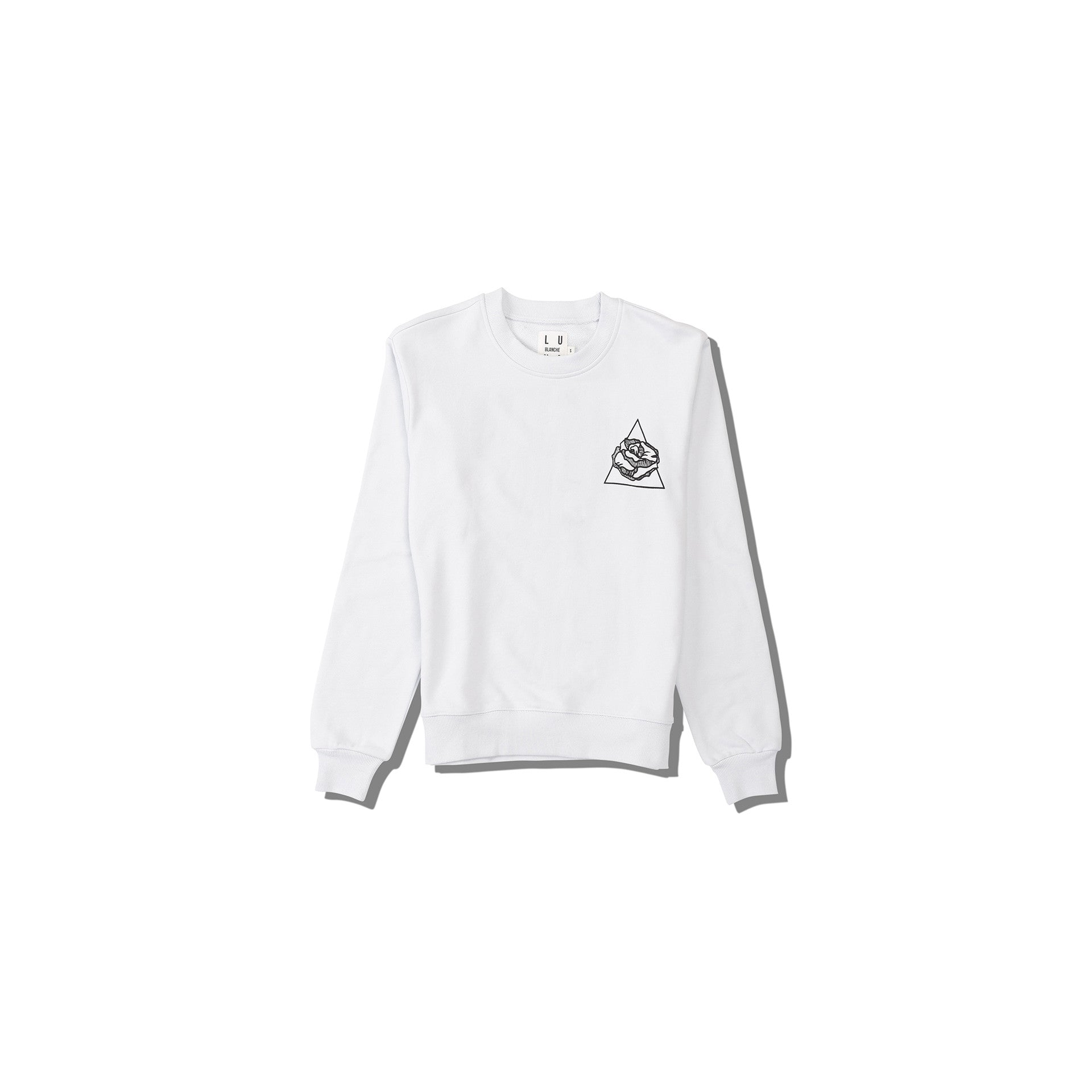 Luna Blanche Valentines Without A Valentines Hand Drawn Graphic Pullover