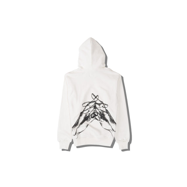 Luna Blanche Back of Goodbye My Love Hand Drawn Hoodie