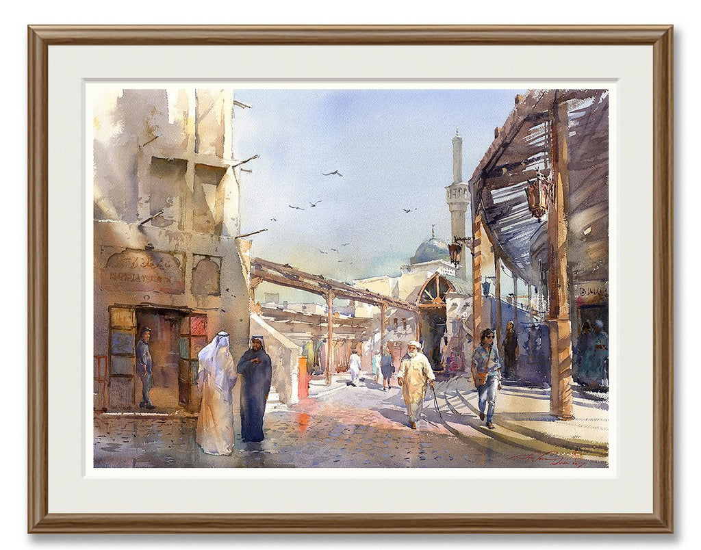Old Souq Painting