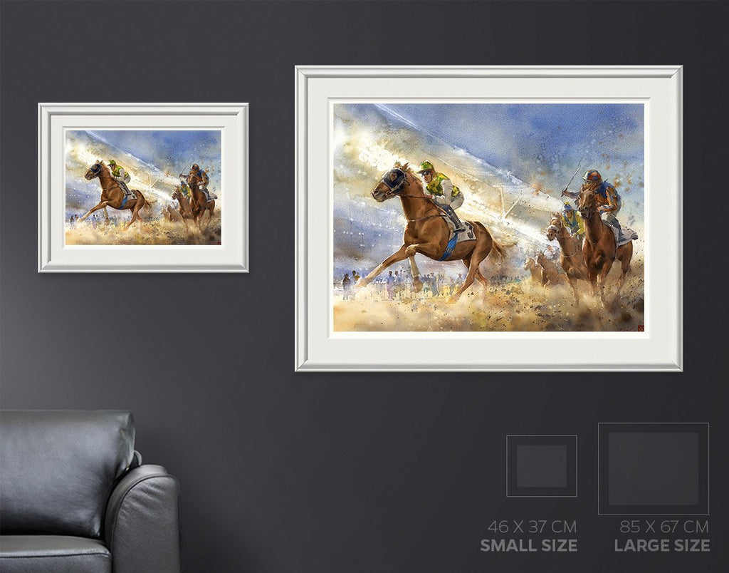 Arabian Winds Painting
