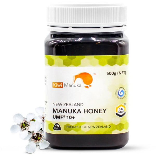 100% New Zealand Manuka Honey UMF® 10+ 500g - Kiwi Manuka - Tiffson
