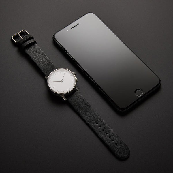 Paris - Granite case with Truffle strap - Nevo - Tiffson