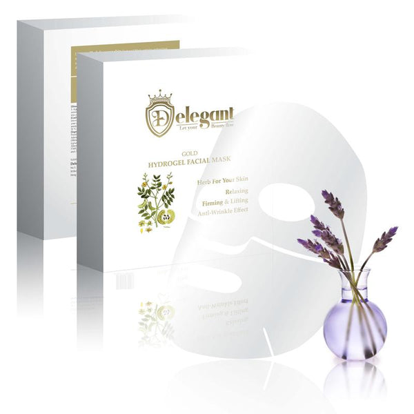 Herb For Your Skin - 24K Gold Hydrogel Mask (5 pieces)