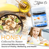 100% NEW ZEALAND MANUKA HONEY UMF® 5+ 500G + 2 FREE 12PC HONEY LOZENGE PACK
