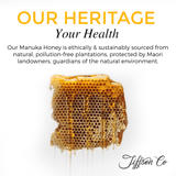 100% NEW ZEALAND MANUKA HONEY UMF® 5+ 500G + 2 FREE 12PC PROPOLIS LOZENGE PACK - Kiwi Manuka - Tiffson