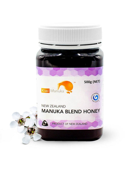 100% NEW ZEALAND MANUKA HONEY UMF® 10+ 500G + FREE Manuka Blend - Kiwi Manuka - Tiffson