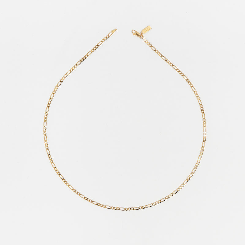 Sicilian Link Chain in Gold
