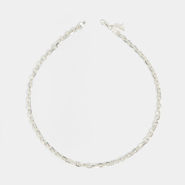 Diamond Cut Chain in Sterling Silver for her