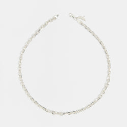 Diamond Cut Chain in Silver
