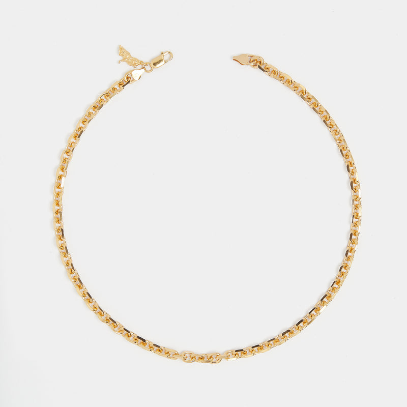 Diamond Cut Chain in Gold for her