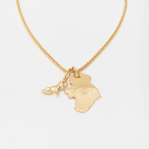 Les Origines Necklace in Gold