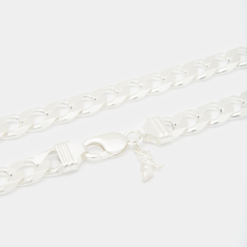 Sterling Silver Papi Cuban Chain for her