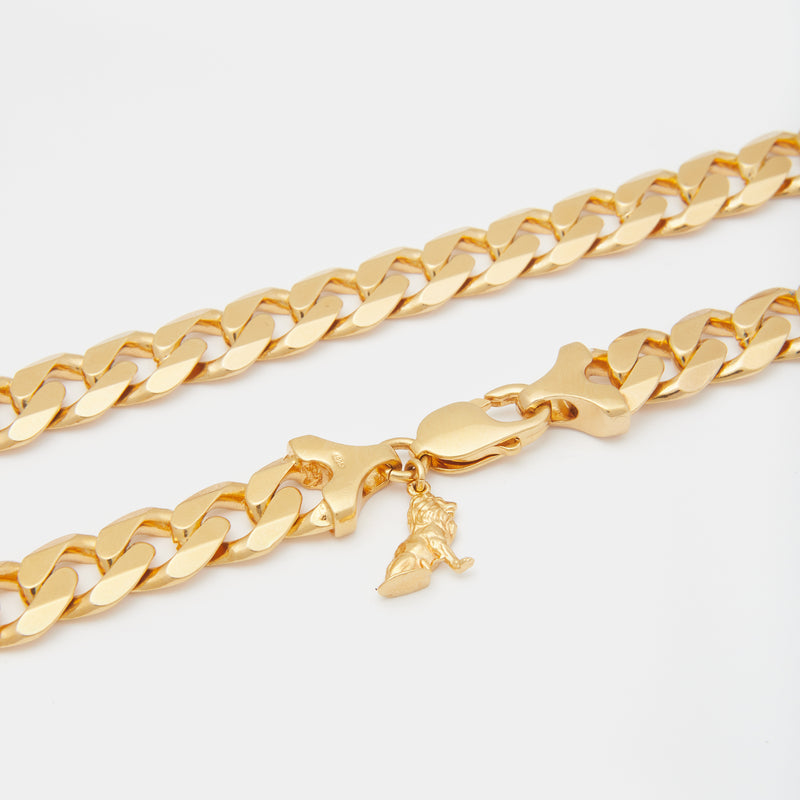 Papi Cuban Chain in Gold