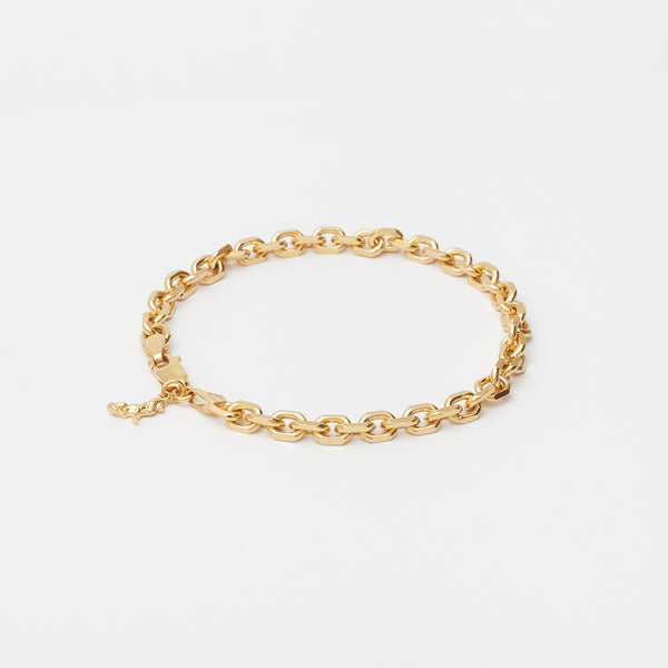 Diamond Cut Bracelet in Gold