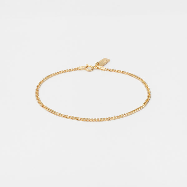 Baby Cuban Bracelet in Gold for her