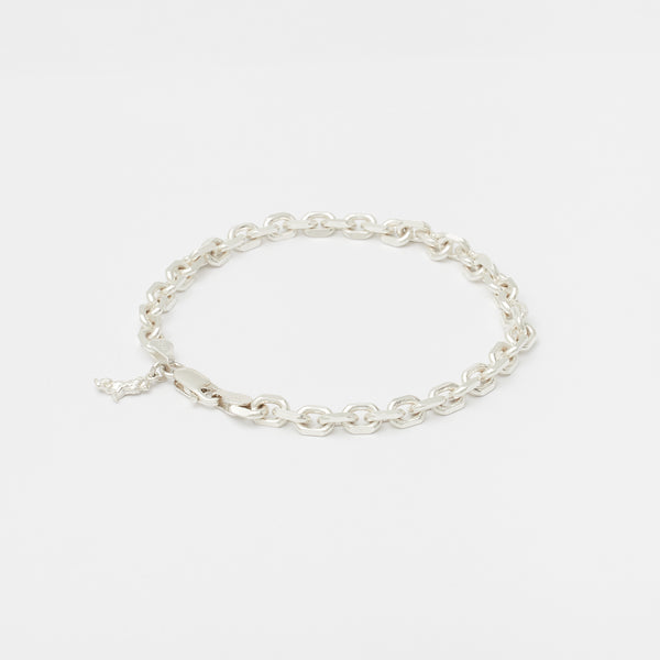Diamond Cut Bracelet in Silver for her