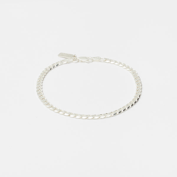 Cuban Bracelet in Sterling Silver for her