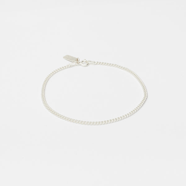 Baby Cuban Bracelet in Silver for her