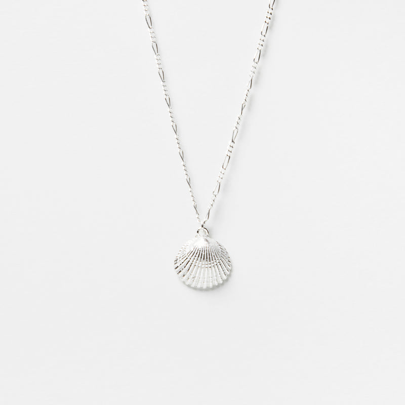 Siobhan Shell Necklace in Sterling Silver