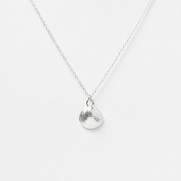 Baby Shell Necklace in Sterling Silver