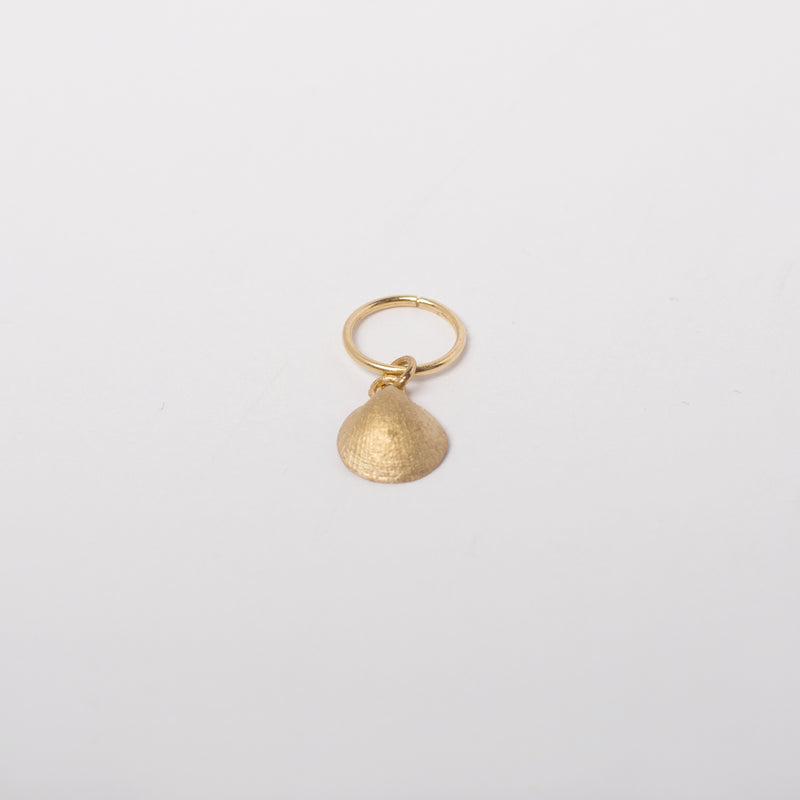 Baby Seashell Earring in 10k Solid Gold