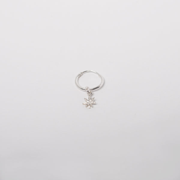 Mary Jane Earring in Sterling Silver