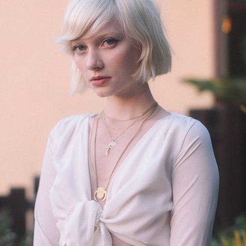 Anaïs Necklace in 14k Gold Vermeil