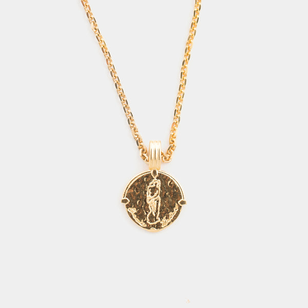 Aquarius Necklace in Gold