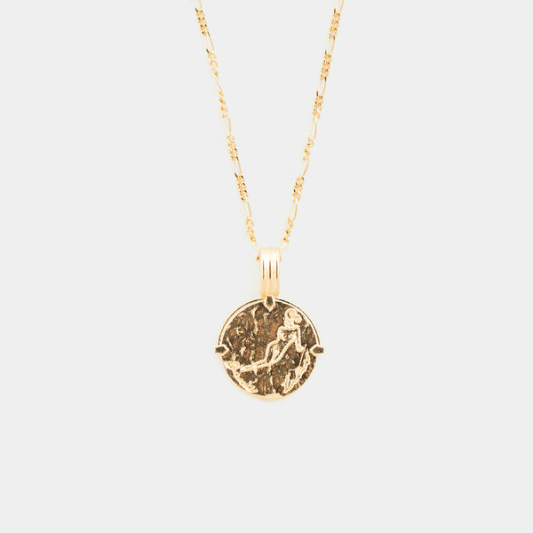 Zodiac Necklace in Gold for Her
