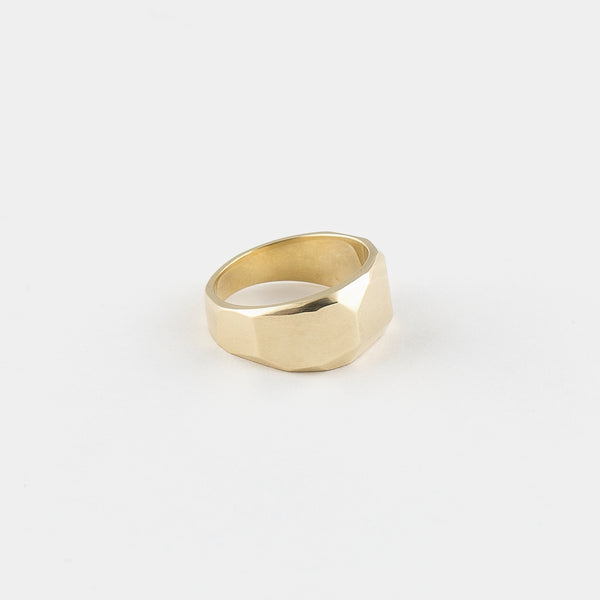 Big Stack Ring in Gold