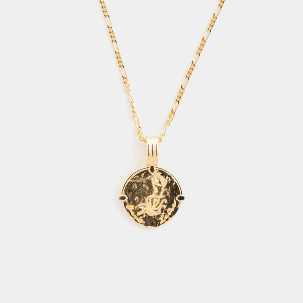 Capricorn Necklace in Gold
