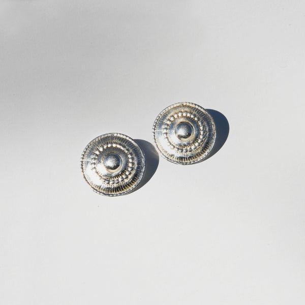 Carmen Earrings in Silver