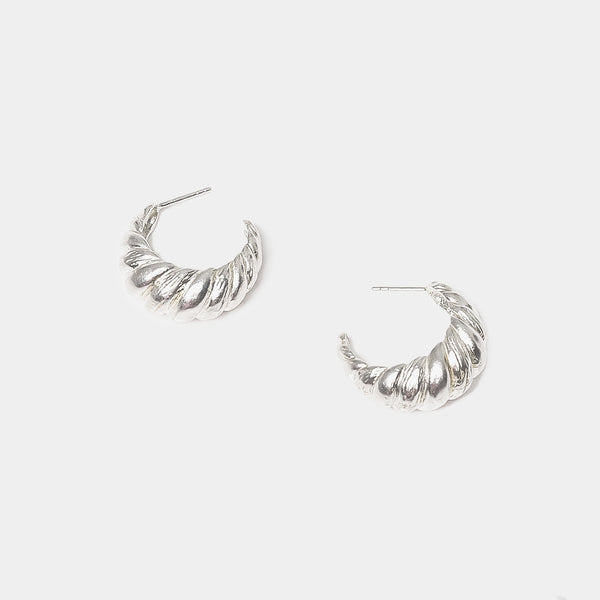 Laëtitia Hoops in Silver