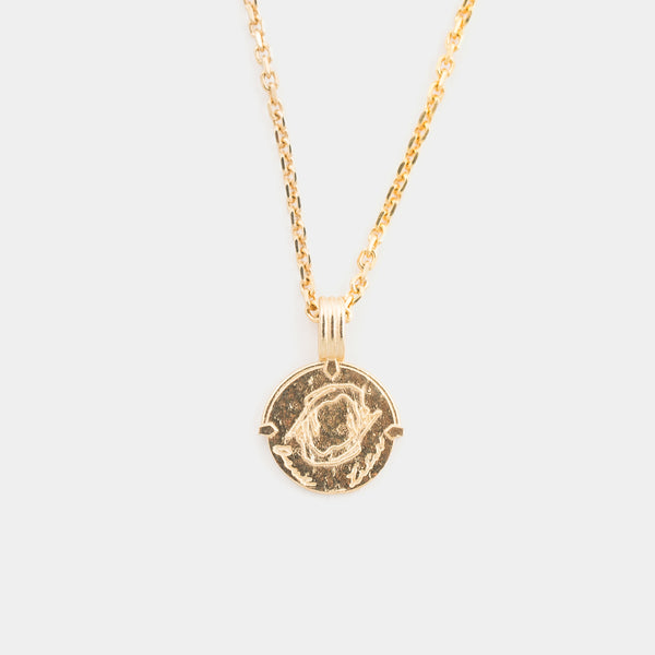 Gemini Necklace in Gold