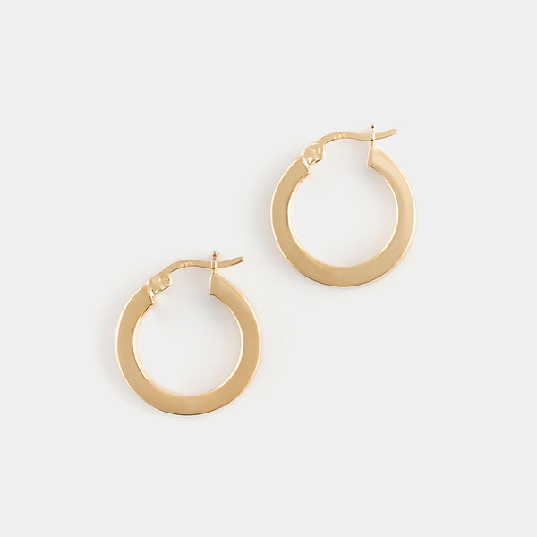 Karen Hoops in 14k Gold Vermeil