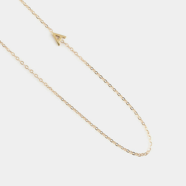 Lillie Letter Necklace
